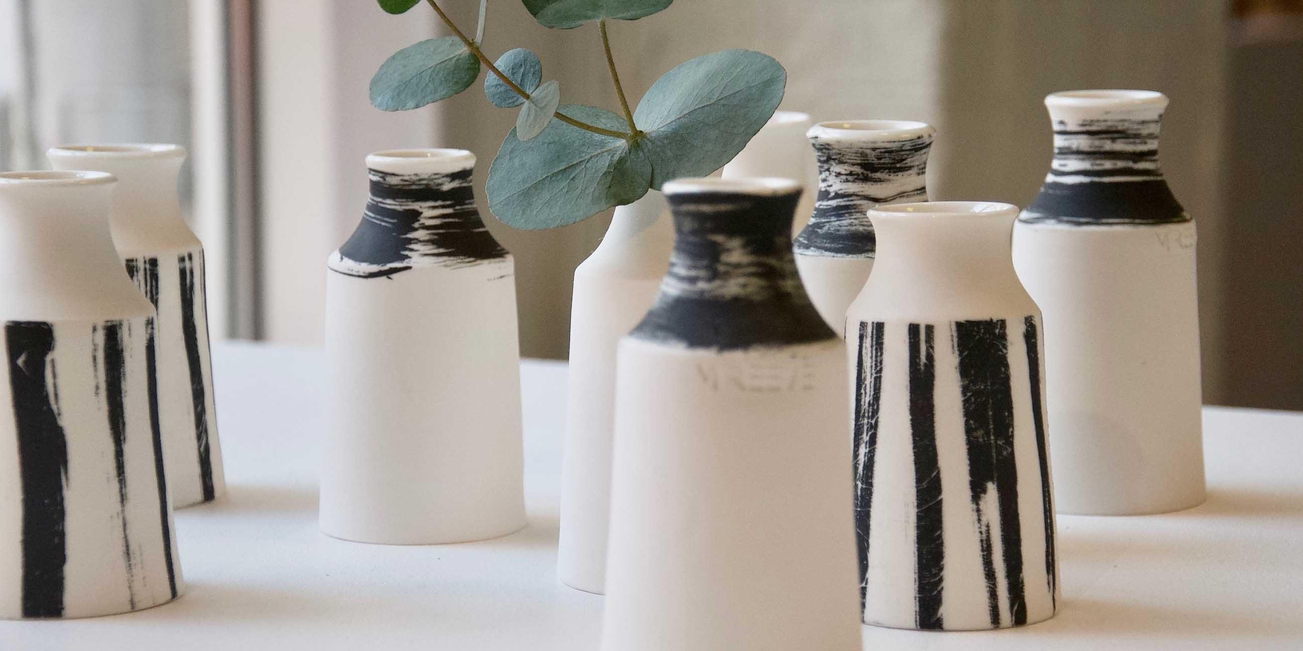 vaser i keramik formakademin