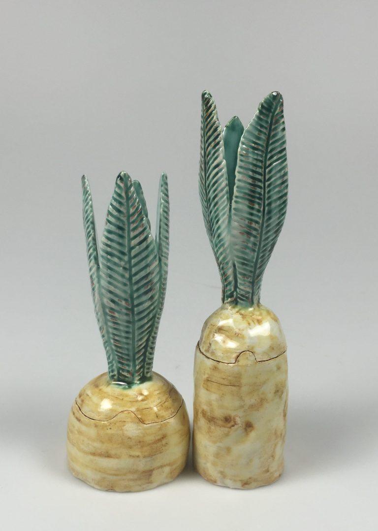 ananas skålar i keramik formgivning på utbildning