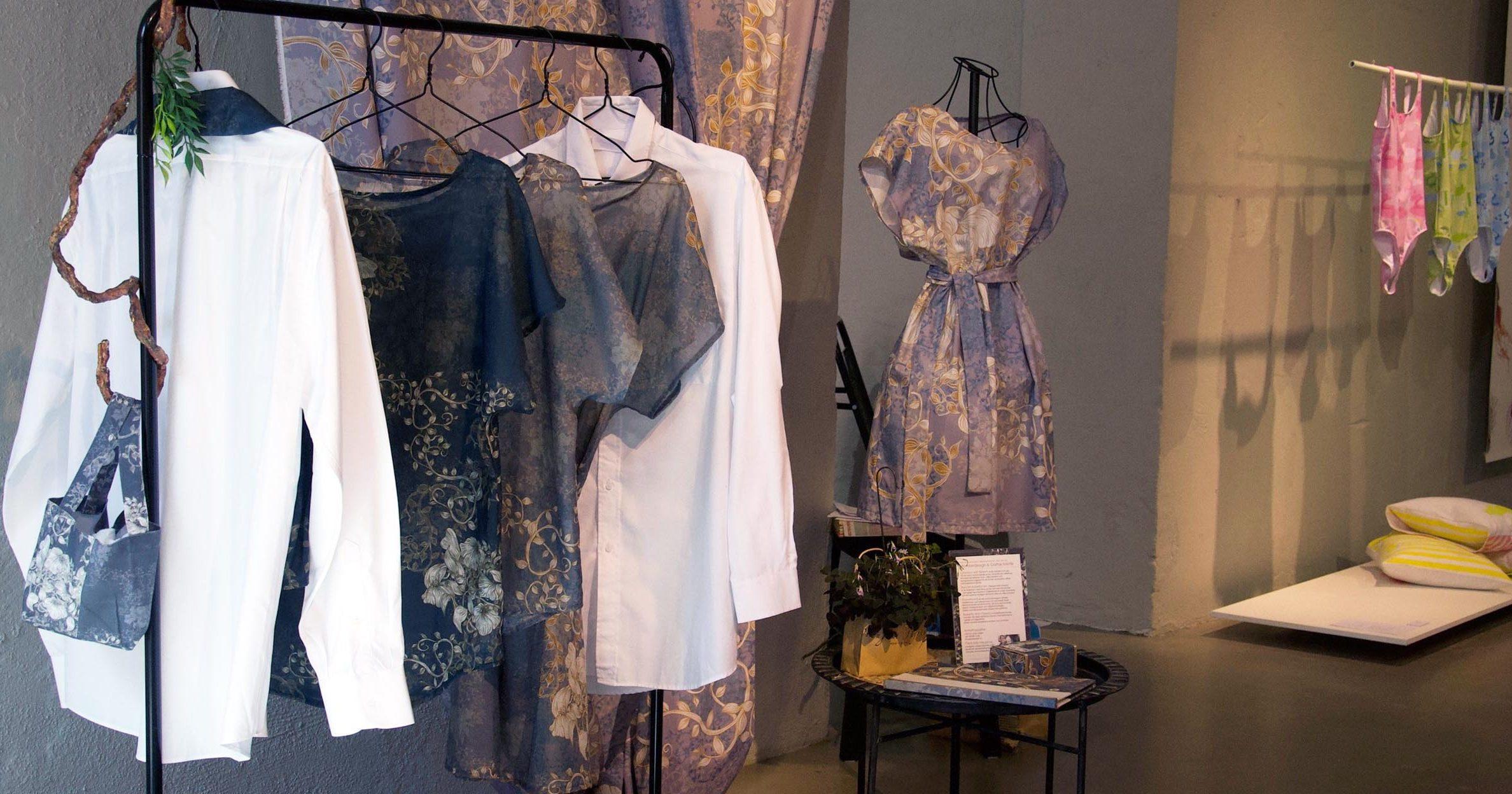 mönsterdesign på kläder