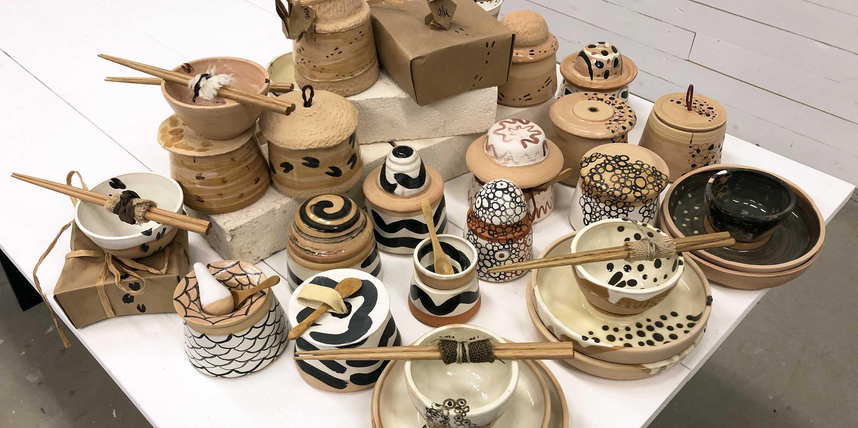 keramik från butik på formakademin elevalster